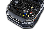 Car Stock 2017 Subaru Impreza 2.0i-Limited-CVT-PZEV 4 Door Sedan Engine  high angle detail view