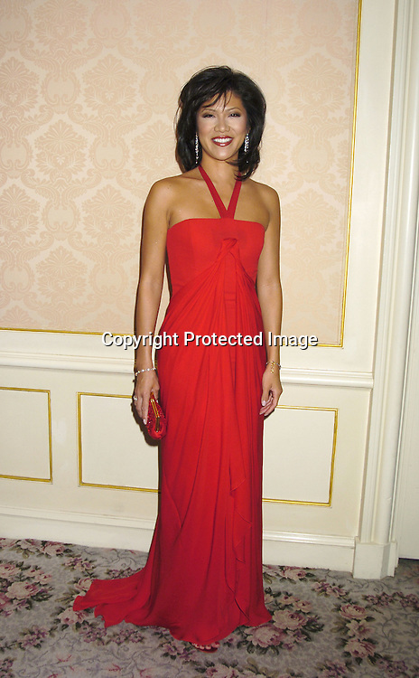 Julie Chen..at the Museum of The Moving Image Honors Gala honoring Jeffrey Bewkes and Leslie Moonves on May 4, 2005 at The St Regis Hotel. ..Photo by Robin Platzer, Twin Images