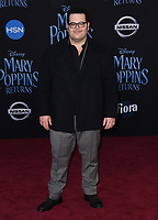 29 November 2018 - Hollywood, California - Josh Gad. &quot;Mary Poppins Returns&quot; Los Angeles Premiere held at The Dolby Theatre.   <br /> CAP/ADM/BT<br /> &copy;BT/ADM/Capital Pictures