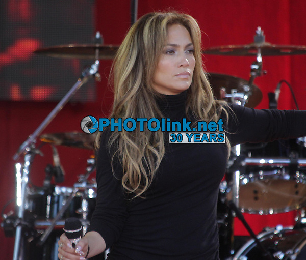 Jennifer Lopez concert on ''Good Morning America'' 6-20-2014<br /> Photo By John Barrett/PHOTOlink.net