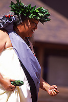 Kahiko Performance on Prince Jonah Kuhio Celebration Day, Kumu Leimomi Cruz Losano
