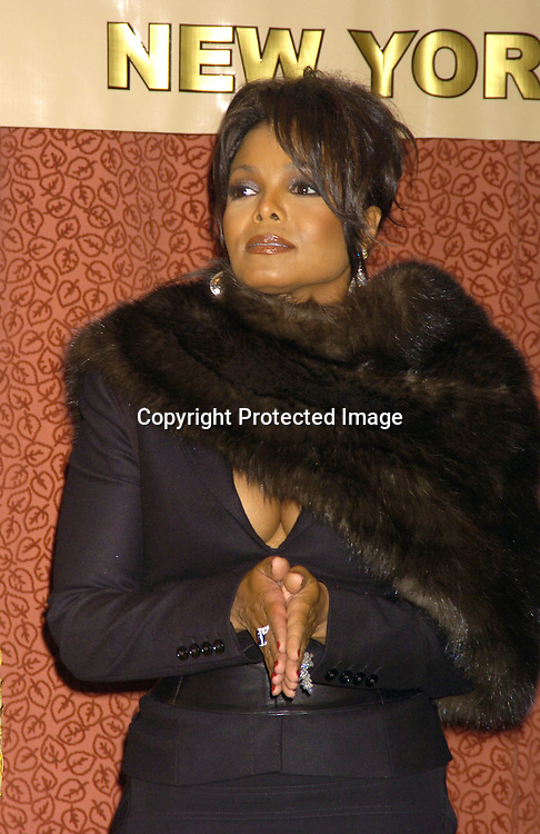 Janet Jackson..at the One Hundred Black Men, Inc Dinner honoring ..Janet Jackson, Hank Aaron, Dr Johnnetta B. Cole and ..Willie E. Gary on November 11, 2004 at The Hilton Hotel. ..Photo by Robin Platzer, Twin Images