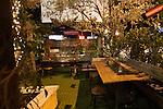 Eveleigh Restaurant on the Sunset Strip, West Hollywood, CA