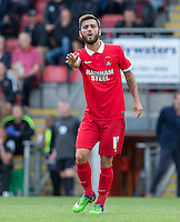 Jack Payne of Leyton Orient during the Sky Bet League 2 match between Leyton Orient and Wycombe Wanderers at the Matchroom Stadium, London, England on 19 September 2015. Photo by Andy Rowland.