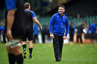 Bath Rugby Head Coach Mike Ford looks on. Bath Rugby Captain's Run on October 30, 2015 at the Recreation Ground in Bath, England. Photo by: Patrick Khachfe / Onside Images
