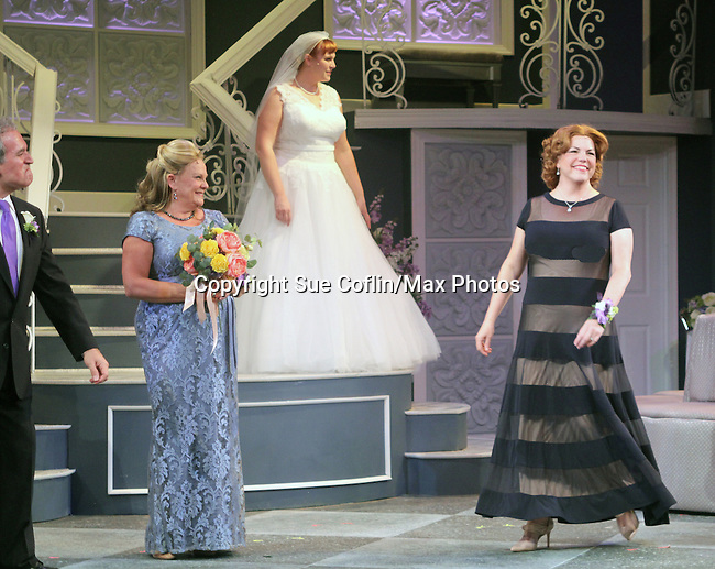 "Guiding Light's Kim Zimmer and cast Joel Briel, Molly Tower, All My Children's Jane Brockman star in ""It Shoulda Been You"" - a new musical comedy - at the Gretna Theatre, Mt. Gretna, PA on July 30, 2016. (Photo by Sue Coflin/Max Photos)"
