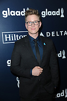 www.acepixs.com<br /> May 6, 2017  New York City<br /> <br /> Tyler Oakley attending arrivals at GLAAD Media Awards on May 6, 2017 in New York City.<br /> <br /> Credit: Kristin Callahan/ACE Pictures<br /> <br /> <br /> Tel: 646 769 0430<br /> Email: info@acepixs.com