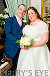Geraldine O'Brien, Tipperary, and Jerome O'Connor, Glenbeigh were married at the Prince of Peace Church Fossa by Fr. Kevin Sullivan on Saturday 5th December 2015 with a reception at Ballyseede Castle Hotel