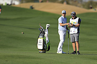 Alex Noren (SWE) during the 1st round of the Waste Management Phoenix Open, TPC Scottsdale, Scottsdale, Arisona, USA. 31/01/2019.<br /> Picture Fran Caffrey / Golffile.ie<br /> <br /> All photo usage must carry mandatory copyright credit (&copy; Golffile | Fran Caffrey)