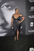 "WESTWOOD, CA - JUNE 14: Yolanda -Yo-Yo- Whitaker at the ""All Eyez On Me"" Los Angeles Premiere at Westwood Village Theaters in Westwood, California on June 14, 2017. Credit: Koi Sojer/Snap'N U Photos/MediaPunch"