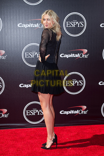 LOS ANGELES, CA - JULY 16: Maria Sharapova at the 2014 ESPYs at Nokia Theatre L.A. Live in Los Angeles, California on July 16th, 2014.   <br /> CAP/MPI/mpi99<br /> &copy;mpi99/MediaPunch/Capital Pictures