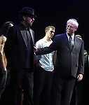 Dave Stewart, Bruce Joel Rubin & Richard Fleeshman.during the Broadway Opening Night Performance Curtain Call for  'GHOST' a the Lunt-Fontanne Theater on 4/23/2012 in New York City.