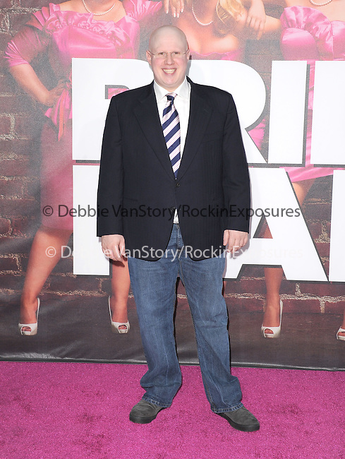 Matt Lucas at The Universal Pictures L.A. Premiere of Bridesmaids at Mann Village Theatre in West Hollywood, California on April 28,2011                                                                               © 2011 Hollywood Press Agency
