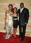HOLLYWOOD, CA. - November 21: Holly Robinson Peete, Ryan Elizabeth Peete and former NFL player Rodney Peete attend the 2009 CNN Heroes Awards held at The Kodak Theatre on November 21, 2009 in Hollywood, California.