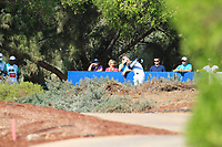 Aaron Rai (ENG) on the 16th tee during the final round of the DP World Tour Championship, Jumeirah Golf Estates, Dubai, United Arab Emirates. 18/11/2018<br /> Picture: Golffile | Fran Caffrey<br /> <br /> <br /> All photo usage must carry mandatory copyright credit (© Golffile | Fran Caffrey)