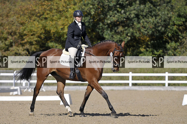 Class 3. Unaffiliated Dressage. Brook Farm training centre. Essex. 30/09/2017. MANDATORY Credit Garry Bowden/Sportinpictures - NO UNAUTHORISED USE - 07837 394578