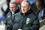 St Johnstone v Hibs...22.03.14    SPFL<br /> Hibs manager Terry Butcher looks on<br /> Picture by Graeme Hart.<br /> Copyright Perthshire Picture Agency<br /> Tel: 01738 623350  Mobile: 07990 594431