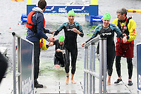 PICTURE BY VAUGHN RIDLEY/SWPIX.COM...Swimming - British Gas Great Salford Swim 2011- Salford Quays, Manchester, England - 15/05/11.