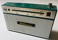 BNPS.co.uk (01202 558833)<br /> Pic: OmegaAuctions/BNPS<br /> <br /> PICTURED: Elvis owned radio sold for £3000 <br /> <br /> The first ever played Beatles record has sold at auction for over £20,000 leading an £80,000 sale of music memorabilia amassed by a veteran radio DJ.<br /> <br /> Tony Prince worked for Radio Luxembourg which was the first to give air time to the Fab Four.<br /> <br /> On the evening of October 5, 1962, the pirate radio station broadcast their debut 7in single. <br /> <br /> It was the first time the people of the UK got to hear the ground-breaking music of The Beatles.