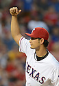 Yu Darvish (Rangers),<br /> AUGUST 30, 2013 - MLB :<br /> Yu Darvish of the Texas Rangers pitches during the Major League Baseball game against the Minnesota Twins at Rangers Ballpark in Arlington in Arlington, Texas, United States. (Photo by AFLO)