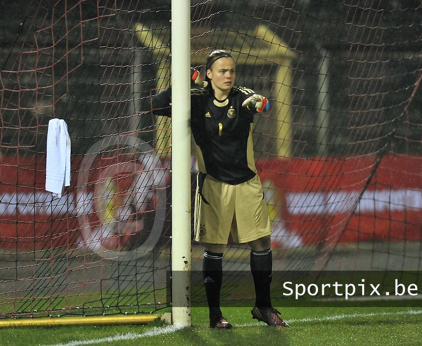 U17  Netherlands - U17 Germany : Miriam Hanemann (GK) (C).foto DAVID CATRY / Vrouwenteam.be