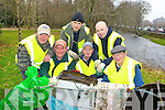 Lough Lein Anglers who collected litter and rubbish around Knockreer and along the banks of the river Deenagh on Saturday morning front row l-r: Tim O'Connor, Rory O'Flaherty, Corry O'Flaherty. Back row: Patsy O'Flaherty, JP O'Sullivan and Ollie O'Shea.