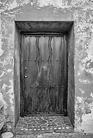 Door at Mission Carmel