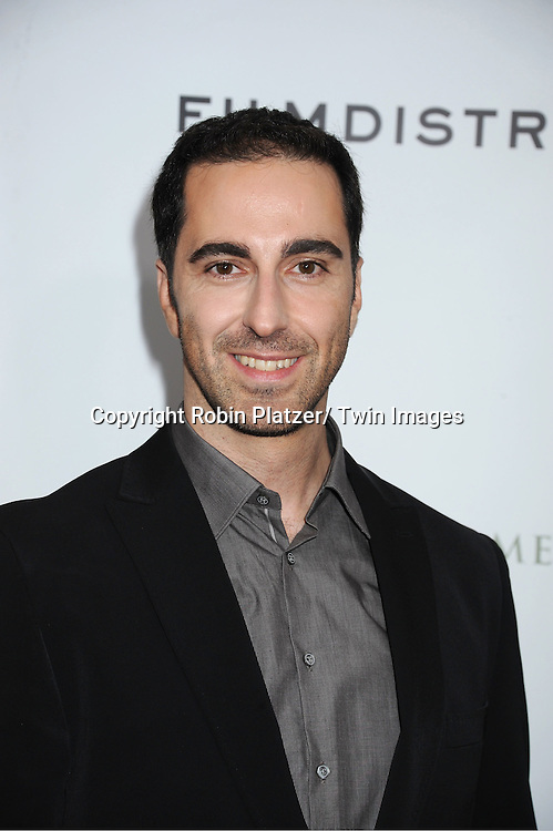 "actor Ermin Bravo attends The New York Premiere of Angelina Jolie's movie .."" In the Land of Blood and Honey"" on December 5, 2011 at The School of Visual Arts Theatre in New York City."