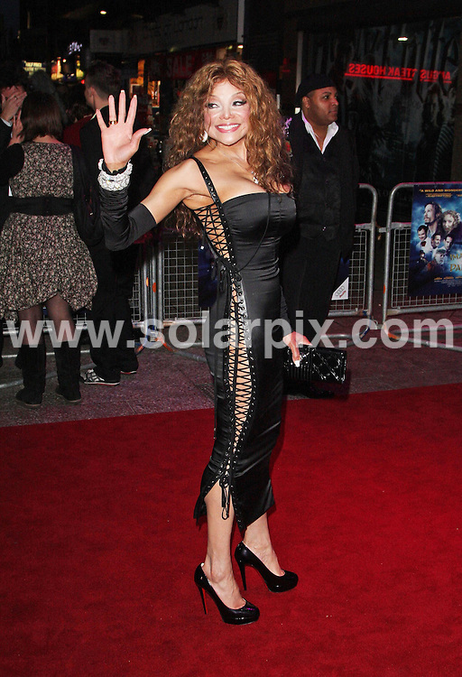 "**ALL ROUND PICTURES FROM SOLARPIX.COM**.**WORLDWIDE SYNDICATION RIGHTS**.The UK Premiere of ""The Imaginarium of Doctor Parnassus"" at the Empire Cinema in Leicester Square, London on Tuesday 6 October 2009.This pic:  LaToya Jackson.JOB REF:  10074   LNJ     DATE:  07.10.09.**MUST CREDIT SOLARPIX.COM OR DOUBLE FEE WILL BE CHARGED**.**MUST NOTIFY SOLARPIX OF ONLINE USAGE**.**CALL US ON: +34 952 811 768 or LOW RATE FROM UK 0844 617 7637**"