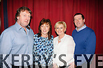 Making a night of it<br /> -----------------------<br /> Attending the Paidi O'Se fundraiser in the Gleneagle hotel,Killarney last friday were L-R John&amp;Ann Ladden with Mary&amp;Donal Ashe.