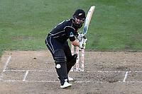 Blackcaps batsman Colin Munro in action while batting during the Third ODI game between Black Caps v England, Westpac Stadium, Wellington, Saturday 03rd March 2018. Copyright Photo: Raghavan Venugopal / © www.Photosport.nz 2018