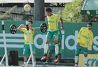 SÃO PAULO,SP,08.07.2016 - FUTEBOL-PALMEIRAS - Vitinho durante treino na Academia de Futebol, na Barra Funda zona oeste de São Paulo, na manha desta sexta-feira (08). ( Foto : Marcio Ribeiro / Brazil Photo Press).