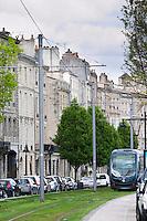 tram quai des chartrons bordeaux france