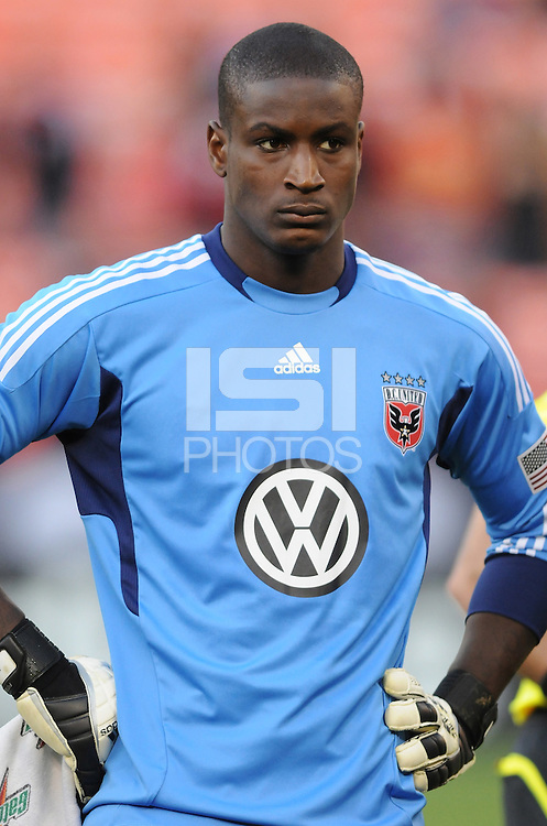 D.C. United goalkeeper Bill Hamid (28) File photo RFK stadium 2011 season.