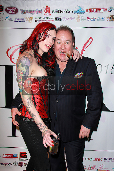 Chelsea Marie, Steven Grooby<br /> at the 2015 Transgender Erotica Awards Official After Party, Bardot, Hollywood, CA 02-16-15<br /> David Edwards/DailyCeleb.Com 818-249-4998
