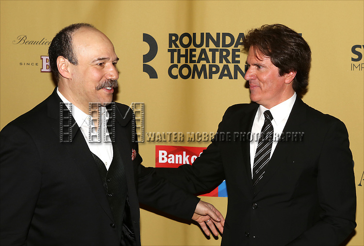 Danny Burstein and Rob Marshall attending the Broadway Opening Night After Party for 'Cabaret' at Studio 54 on April 24, 2014 in New York City.