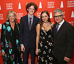 """Mary McCann and Neil Pepe with Family attends the Atlantic Theater Company """"Divas' Choice"""" Gala at the Plaza Hotel on March 4, 2019 in New York City."""