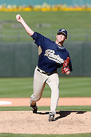 Josh Banks - San Diego Padres - 2009 spring training.Photo by:  Bill Mitchell/Four Seam Images