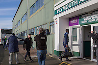 Wycombe manager Gareth Ainsworth arrives at the ground for the Sky Bet League 2 match between Plymouth Argyle and Wycombe Wanderers at Home Park, Plymouth, England on 26 December 2016. Photo by Mark  Hawkins / PRiME Media Images.