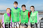 At the North Kerry's KDYS 'fittest Club'  Challenge at Ballyheigue beach  on Saturday were Sarah Gleasure, Michael Falvey, Tadhg Molyneux, Aoife Dillane from Ballybunion youthclub