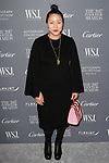 Carol Lim arrives at the WSJ. Magazine 2017 Innovator Awards at The Museum of Modern Art in New York City, on November 1, 2017.