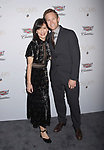 LOS ANGELES, CA - FEBRUARY 23: Actress Perrey Reeves (L) and Aaron Endress-Fox attend Cadillac's 89th annual Academy Awards celebration at Chateau Marmont on February 23, 2017 in Los Angeles, California.