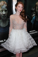 "HOLLYWOOD, LOS ANGELES, CA, USA - APRIL 03: Annalise Basso at the Los Angeles Screening Of Relativity Media's ""Oculus"" held at TCL Chinese 6 Theatre on April 3, 2014 in Hollywood, Los Angeles, California, United States. (Photo by Xavier Collin/Celebrity Monitor)"