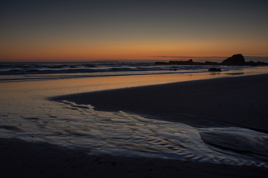 Dusk at Kalaloch Beach 4, Olympic Peninsula, Washington, US