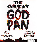 Theatre Marquee for the Opening Night for the Playwrights Horizons World Premiere Production of 'The Great God Pan' at Playwrights Horizons Theatre in New York City on December 18, 2012