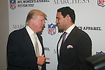 DONALD TRUMP AND MARK SANCHEZ ATTEND NFL & VOGUE CELEBRATE NFL WOMEN'S APPAREL & UNVEIL MARCHESA DESIGN AT THE NATIONAL FOOTBALL LEAGUE, NY D. SALTERS/WENN 10/2/12