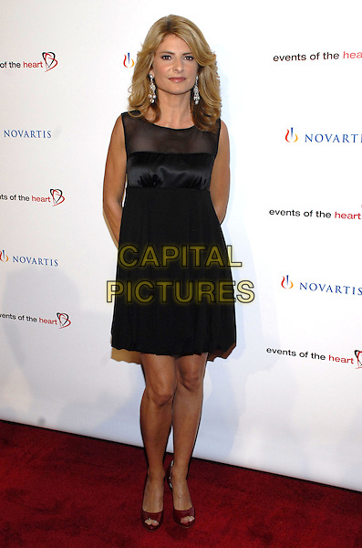 "LISA BLOOM.Attending Events of the Heart, a non-profit organization co-founded by Pamela Serure and Carole Isenberg, holds its first annual fundraising gala entitled ""Heart On!"" at Jazz at Lincoln Center, New York City, NY, USA, 1 October 2007.full length black dress.CAP/ADM/BL.©Bill Lyons/Admedia/Capital Pictures *** Local Caption ***"