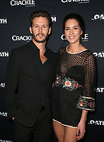 CULVER CITY, CA - MARCH 7: Ryan Kwanten, Ashley Sisino, pictured at Crackle's The Oath Premiere at Sony Pictures Studios in Culver City, California on March 7, 2018. <br /> CAP/MPIFS<br /> &copy;MPIFS/Capital Pictures