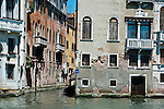 Degradation of Buildings, Venice, Italy