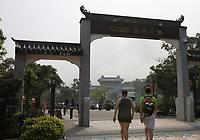 General views of Ngong Ping Village, Lantau Island, Hong Kong on 6.4.19.